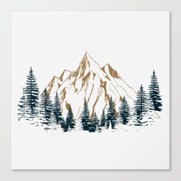mountain # 4 Canvas Print