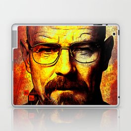 breaking bad-walter white Laptop & iPad Skin
