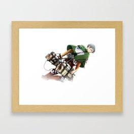 fading captain Framed Art Print