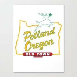Potland Oregon Canvas Print