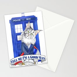 Doctor Mew 12th Doctor Stationery Cards