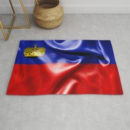 Liechtenstein Flag Rug
