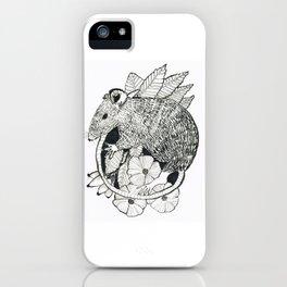 autumn rat iPhone Case