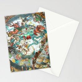 Harmonia Macrocosmica Plate 28 Stationery Cards