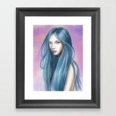 EmoPink Framed Art Print