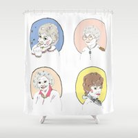 dorothy Shower Curtains featuring Dorothy by Jackie Thomson
