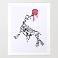 Sea Lion Art Print
