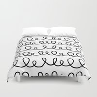 doodle Duvet Covers featuring Doodle by 83 Oranges®