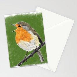 Robin 02 Stationery Cards