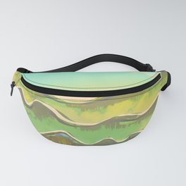 Magic Flight over the Sea of Clouds Fanny Pack