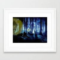 sterek Framed Art Prints featuring Sterek by reliand
