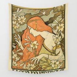Ermitage Art Nouveau Magazine Wall Tapestry