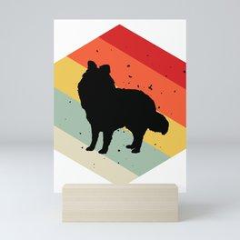 Shetland Sheepdog design For Dog Lovers Cute Dog Mini Art Print