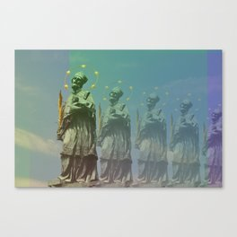 Wazzup Guys Canvas Print