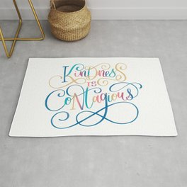 Kindness Is Contagious Rug