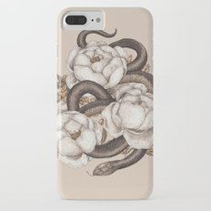 Snake and Peonies Slim Case iPhone 7 Plus