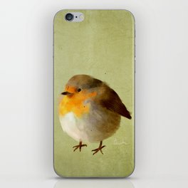 Chubby Bird iPhone Skin