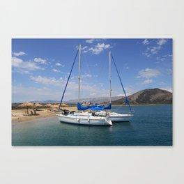 Sailing Greek Islands Canvas Print