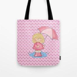 Puddle Jumper Girl Tote Bag