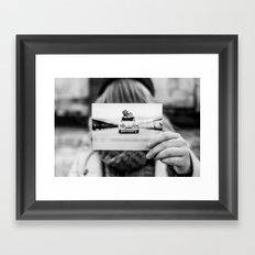 Back to the roots of Photography Framed Art Print