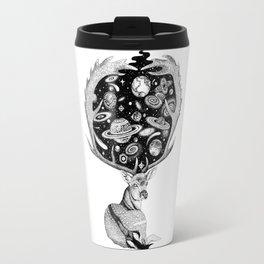 Space Deer Travel Mug