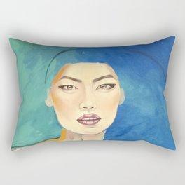 Oriental silk Rectangular Pillow