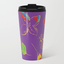 FLOWERS IN LINE 4 Travel Mug
