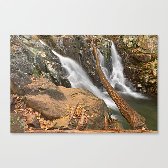 Rose River Falls Canvas Print