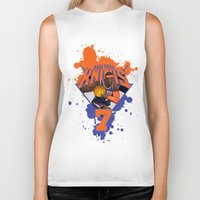 nba Biker Tanks featuring NBA Stars: Carmelo Anthony by Akyanyme
