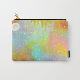 Pastel Rainbow Sky Painting Carry-All Pouch