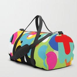 Color blobs Duffle Bag