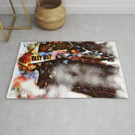 Easy way or not? Rug