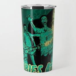 Zombies Attack Travel Mug