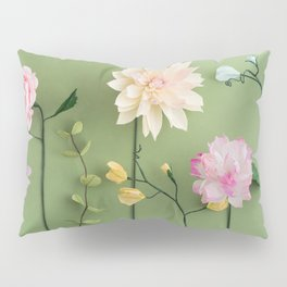 Crepe paper flowers Pillow Sham