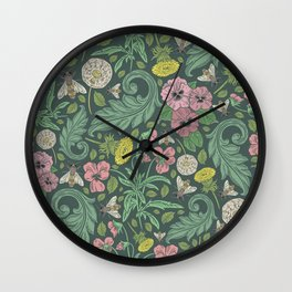 Victorian Garden 4 - Larger Pattern Wall Clock