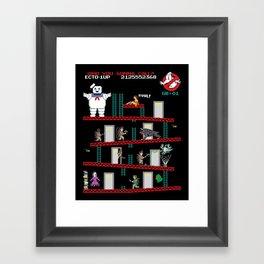 Donkey Puft Framed Art Print
