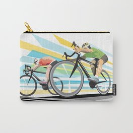 Illustration Graphic Design: Finish Line Carry-All Pouch