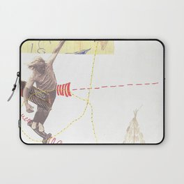 """going nowhere fast"" Laptop Sleeve"