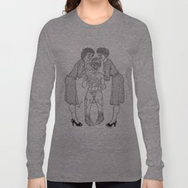 The Defamation of Normal Rockwell II (NSFW) Long Sleeve T-shirt