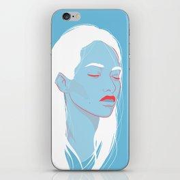 BLUE HEADS iPhone Skin