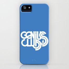 Genius Club Logo iPhone Case