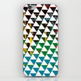Color Chrome -geometric graphic iPhone Skin