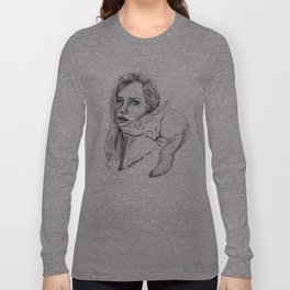 Fox Girl Long Sleeve T-shirt