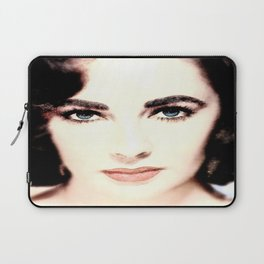 Elizabeth Taylor Face Laptop Sleeve