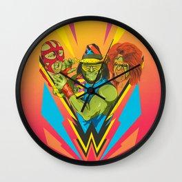 Classic Wrestling Wall Clock