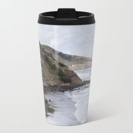 Cliffs of New Zealand Metal Travel Mug