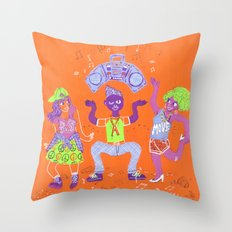 Bust a Move Throw Pillow