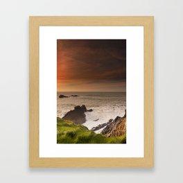 Hartland North Devon uk Framed Art Print