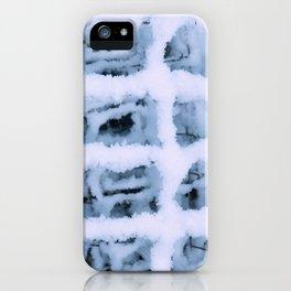 Snow Pattern iPhone Case