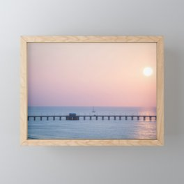 Morning Sail x Florida Coast Framed Mini Art Print